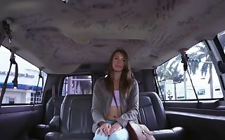 Kirsten Lee in Kirsten goes Nasty on a Spring Break Bus Rail - BangBus
