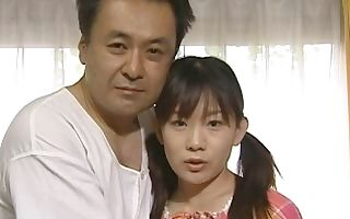 Sweet Asian young vs. old sex encounter