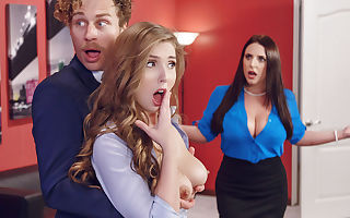 Angela White & Lena Paul & Michael Vegas in Porn Logic - Brazzers