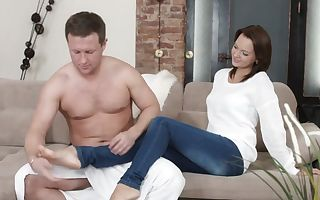Boris & Emily Thorne in Midday Nuts Call - X-Sensual