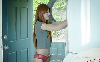 Miley Cole in Caught Crimson Haired